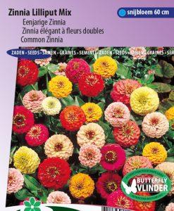 Zinnia Lilliput Mix Seeds 4 Garden