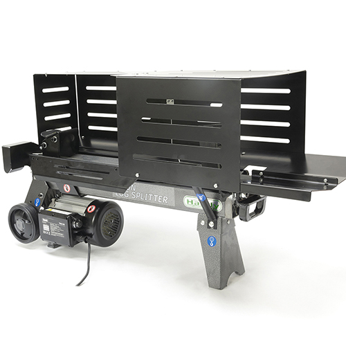 The Handy 6 Ton Electric Log Splitter With Guards YouGarden