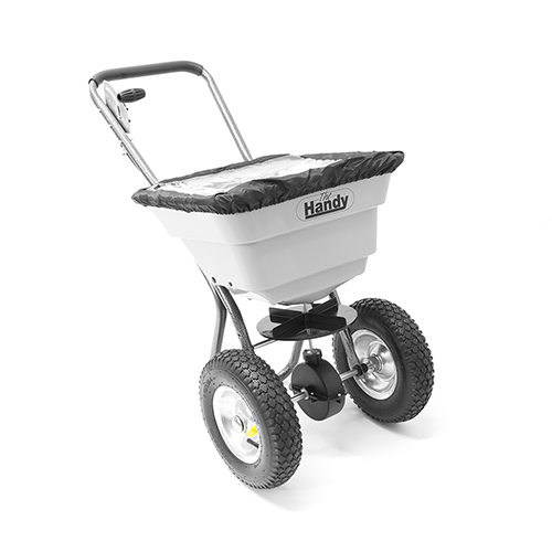 The Handy 36.5kg (80lbs) Push Broadcast Spreader YouGarden