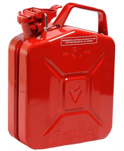 5 ltr Steel Jerry Can - Red