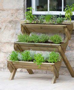 Stepped Herb Planter