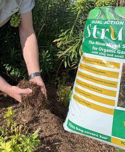 Strulch Mineralised Straw Garden Mulch 100L