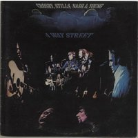 Crosby, Stills, Nash & Young 4 Way Street UK 2-LP vinyl Cover