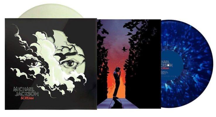 Michael Jackson Scream Vinyl