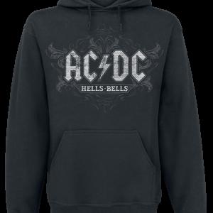 AC/DC - Hells Bells - Hooded sweatshirt - black product image at Soundorabilia.com