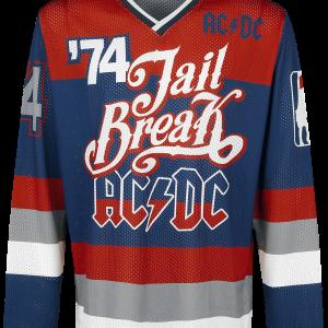 AC/DC - Jail Breakers '74 - Longsleeve - multicolour product image at Soundorabilia.com