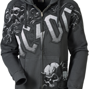 AC/DC - Prowler - Hooded zip - charcoal product image at Soundorabilia.com