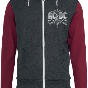 AC/DC - T.N.T. - Hooded zip - red-grey product image at Soundorabilia.com
