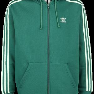 Adidas - 3-Stripes FZ - Hooded zip - green product image at Soundorabilia.com