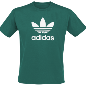 Adidas - Trefoil T-Shirt - T-Shirt - green product image at Soundorabilia.com