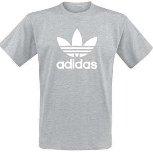 Adidas - Trefoil T-Shirt - T-Shirt - mottled grey product image at Soundorabilia.com