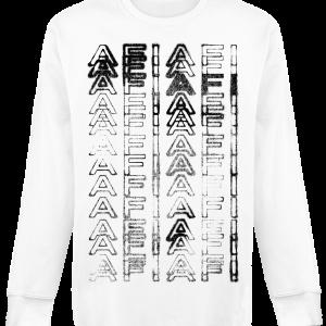 Afi - Blur Down - Longsleeve - white product image at Soundorabilia.com