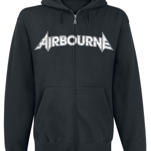 Airbourne - Boneshaker - Hooded zip - black product image at Soundorabilia.com