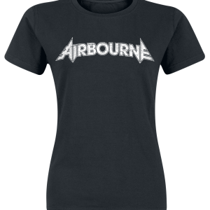 Airbourne -  - Girls shirt - black product image at Soundorabilia.com