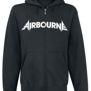 Airbourne - Playing Cards - Hooded zip - black product image at Soundorabilia.com