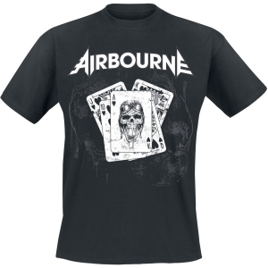 Airbourne - Playing Cards - T-Shirt - black product image at Soundorabilia.com