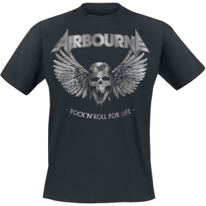 Airbourne - Rock 'N Roll For Life - T-Shirt - black product image at Soundorabilia.com