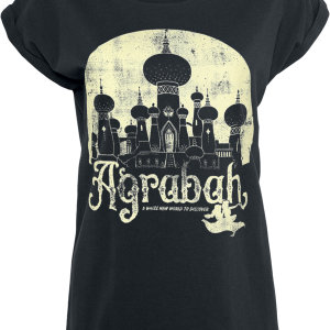 Aladdin - Agrabah - Girls shirt - black product image at Soundorabilia.com