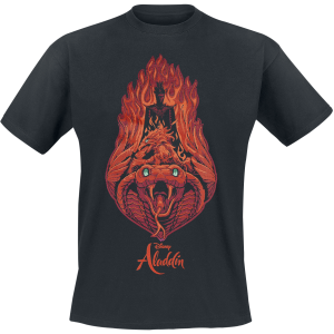 Aladdin - Jafar - Fire - T-Shirt - black product image at Soundorabilia.com
