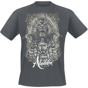 Aladdin - Jafar - T-Shirt - dark grey product image at Soundorabilia.com