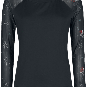 Alchemy England - Creepmas - Girls sweatshirt - black product image at Soundorabilia.com