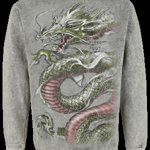 Alchemy England - Crouching Dragon - Sweatshirt - grey product image at Soundorabilia.com