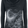 Alchemy England - Deva Minnaloushe - Girls hooded sweatshirt - black product image at Soundorabilia.com