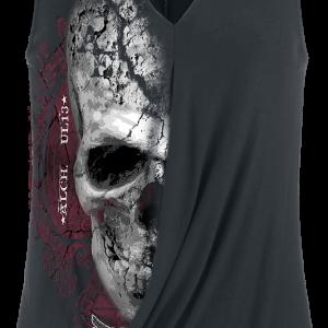 Alchemy England - Devil Skull Pact - Girls Top - black product image at Soundorabilia.com