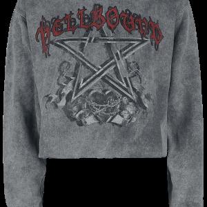 Alchemy England - Hell Bound - Girls sweatshirt - grey product image at Soundorabilia.com