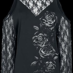 Alchemy England - Irae Roses - Girls longsleeve - black product image at Soundorabilia.com