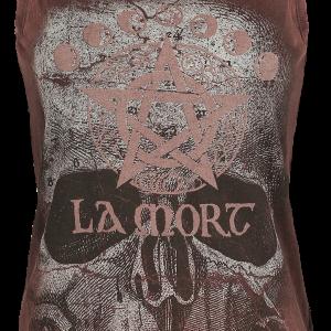 Alchemy England - La Mort Retro Stone - Girls Top - rust product image at Soundorabilia.com