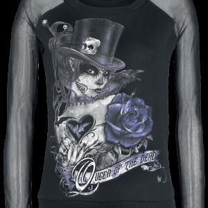 Alchemy England - Queen Of The Dead - Girls sweatshirt - black product image at Soundorabilia.com