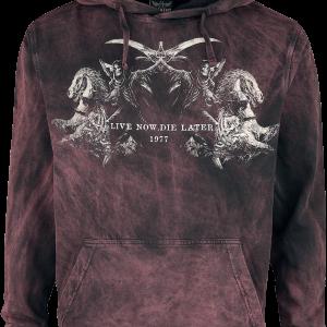 Alchemy England - Reapers Kingdom - Hooded sweatshirt - black-bordeaux product image at Soundorabilia.com