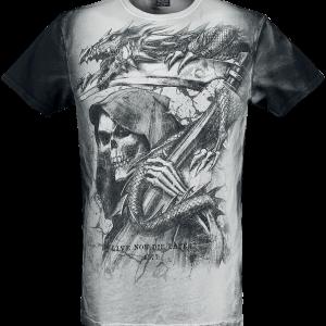 Alchemy England - Reapers Kingdom - T-Shirt - grey product image at Soundorabilia.com