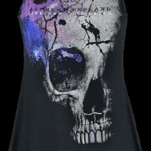 Alchemy England - Scared Skull - Girls Top - black product image at Soundorabilia.com
