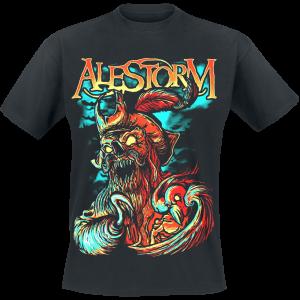 Alestorm - Get Drunk Or Die - T-Shirt - black product image at Soundorabilia.com