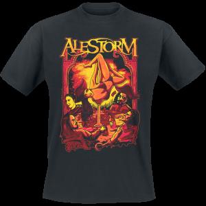 Alestorm - Surrender The Booty - T-Shirt - black product image at Soundorabilia.com