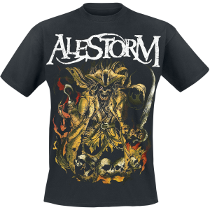 Alestorm - We Are Here To Drink Your Beer! - T-Shirt - black product image at Soundorabilia.com
