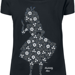 Alice in Wonderland - Absolutely Alice - Girls shirt - black product image at Soundorabilia.com