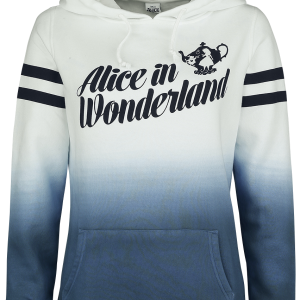 Alice in Wonderland - Tea For Two - Girls hooded sweatshirt - multicolour product image at Soundorabilia.com