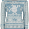 Alice in Wonderland - We're All Mad Here - Girls Sweater - light blue product image at Soundorabilia.com