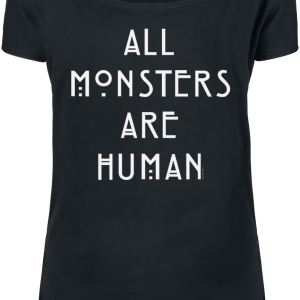 American Horror Story - All Monsters Are Human - Girls shirt - black product image at Soundorabilia.com