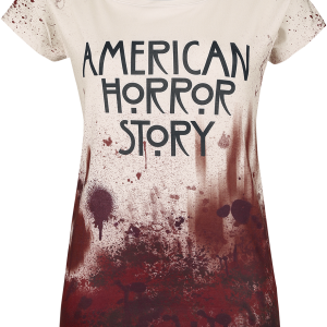American Horror Story - Logo - Girls shirt - multicolour product image at Soundorabilia.com