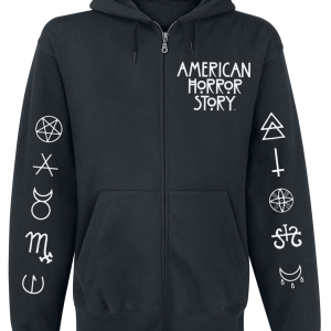 American Horror Story - Normal People - Hooded zip - black product image at Soundorabilia.com