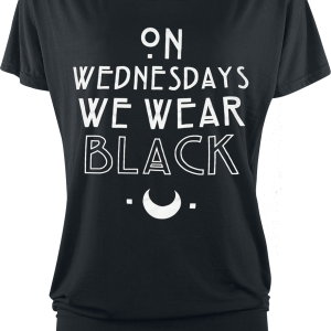 American Horror Story - Wednesdays - Girls shirt - black product image at Soundorabilia.com