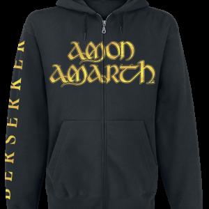 Amon Amarth - Berserker - Hooded zip - black product image at Soundorabilia.com