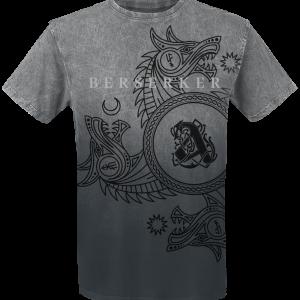 Amon Amarth - Berserker - T-Shirt - dark grey/light grey product image at Soundorabilia.com