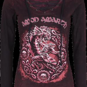 Amon Amarth - EMP Signature Collection - Girls longsleeve - burgundy product image at Soundorabilia.com