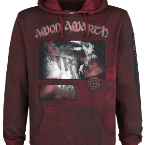 Amon Amarth - EMP Signature Collection - Hooded sweatshirt - burgundy product image at Soundorabilia.com