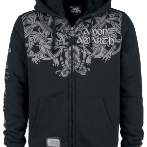 Amon Amarth - EMP Signature Collection - Hooded zip - black product image at Soundorabilia.com